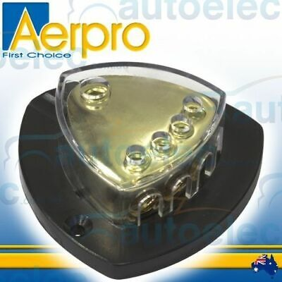 Aerpro 4 Way Battery Positive Distribution Terminal Connector Block Dual Ap410