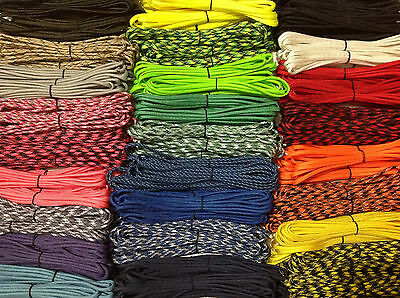 550 Paracord Bracelet Kit 500 feet + 50 Buckles Type III Mil 7 Strand USA cord