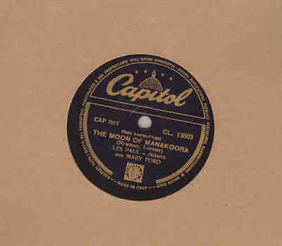 Les Paul con Mary Ford - The Moon of Manakoora - Three Little words - 10-78