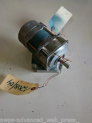 Superior Electric, Slo-Syn motor, SS241TG5, 120VAC, 0.8A, 50/60Hz, 14.4rpm *NEW