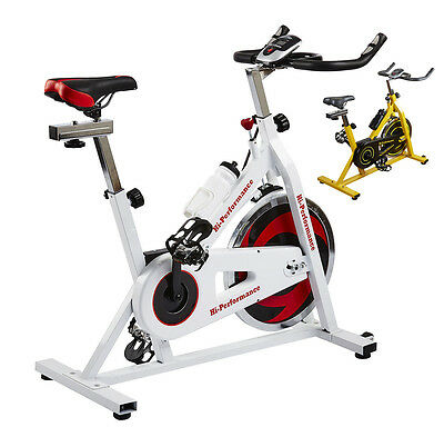 Exercise Bike Cycling Studio Bicycle Cardio Resistance Fitness On Board Computer