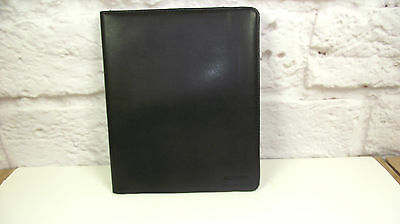 A5 Black Ipad case folder organiser (style 142)