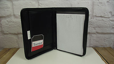 A4 Black Ipad case folder organiser (style 143)