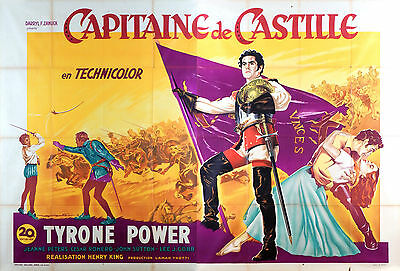 Captain From Castille - Original French Poster - Very Rare