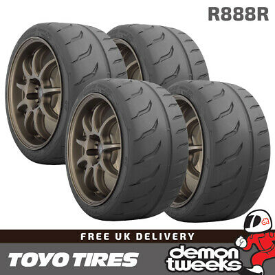 4 x 205/60/13 86V Toyo R888R Road Legal Race|Racing|Track Day Tyres - 2056013