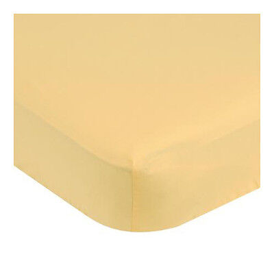 Garanimals Fitted Crib Sheet, Color Yellow Pack of 1 New