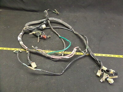 Honda Ch80 Ch 80 Elite Scooter Main Wire Harness 8999 Picclick. 1985 Honda Elite Ch80 Main Wiring Harness. Honda. Honda Elite Wiring At Scoala.co
