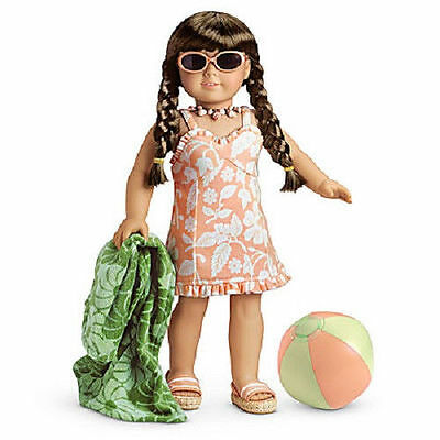 American Girl MOLLY SWIMSUIT OUTFIT NEW IN BAG COMPLETE