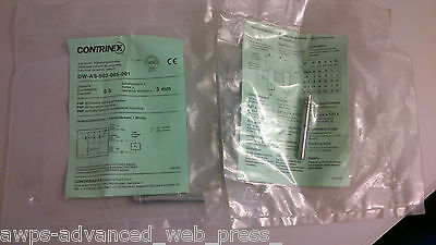 CONTRINEX, DW-AS-503-065-001 Inductive proximity switch, 6.5 3mm, USED