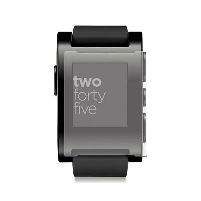 2 Pack Screen Protectors Protect Cover Guard Film For Pebble Smartwatch