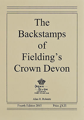 Booklet. The Backstamps of Fieldings Crown Devon, 4th Edition