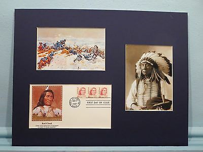 The Fetterman Massacre and the Red Cloud First day Cover