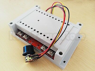 NEW 10-50V 60A 3000W DC Motor Speed Control PWM HHO RC Controller With Case