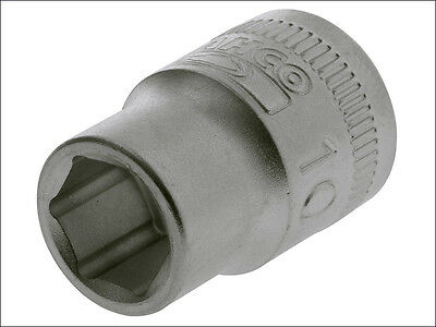 BAHCO SBS60 - 1/4in SQUARE DRIVE METRIC HEXAGON SOCKET - Various Size Sockets