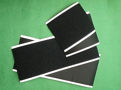 15cm Wide Genuine VELCRO® Brand PS14 Self-Adhesive Hook and Loop Sheets.