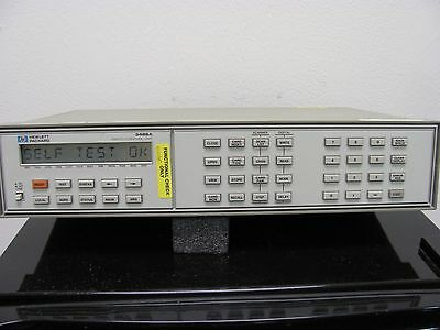 Hp Agilent 3488A Switch Control Unit (Tested)