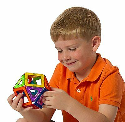 Magformers Rainbow 30 Piece, Magnetic Toy Construction Game, Brain Development