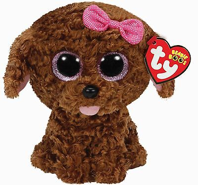 Ty Beanie Babies 36157 Boos Maddie the Brown Dog Boo