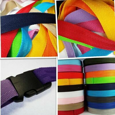 25mm 1.5mm Thick HERRINGBONE Webbing Bag Handles Belting Strapping Strong Nylon