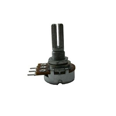 16mm Potentiometer / Variable Resistor 470R Lin (2pk)