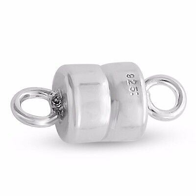 Small Magnetic Clasp #925 Sterling Silver #Azaggi M0686S