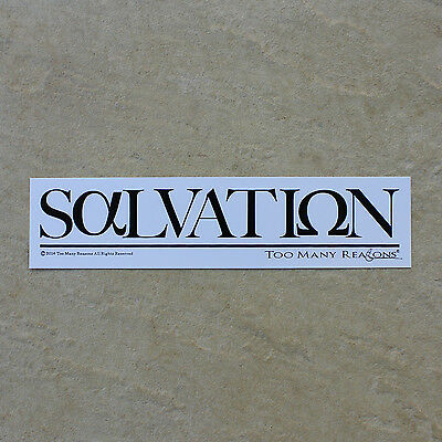 SALVATION AlphaOmega - Premium TMR Sticker