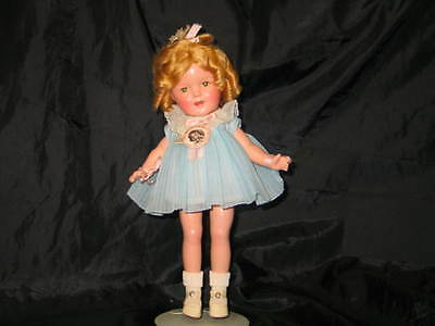 WONDERFUL INCREDIBLE NEVER PLAYED WITH 13 INCH SHIRLEY TEMPLE DOLL