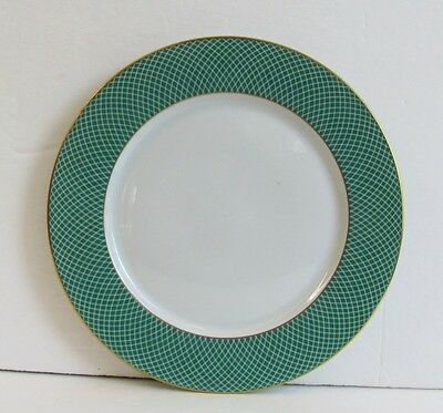 Block Spal Green Fields China Bread Plate Portugal 1980