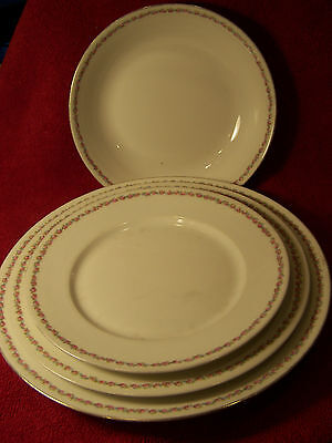 Charles Ahrenfeldt Limoges Depose China Svc for 4 & 2-Serving Dishes-ca1905-1915