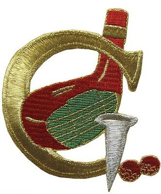 """#2741 3"""" Embroidery Iron On Golf Applique Patch"""