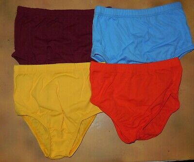 NEW Body Wrappers CHEER DANCE TRUNKS BRIEFS BLOOMERS Ladies/Chil 7 Color Choices