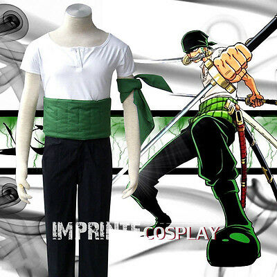 Details about  /One Piece Roronoa Zoro Cosplay Costume FREE P/&P:Free shipping @
