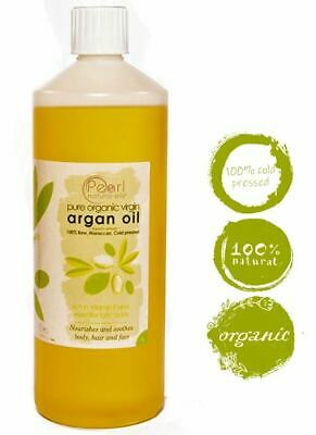 Organic Moroccan Argan Oil 100% Pure and Natural Cold pressed 1 litre