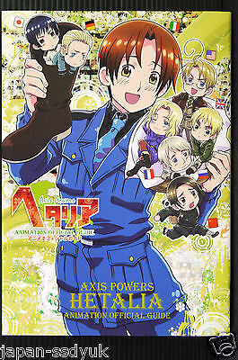 JAPAN Hetalia Axis Powers Animation Official Guide