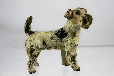 Miniature Cold Painted Austrian Bronze Dog C1900
