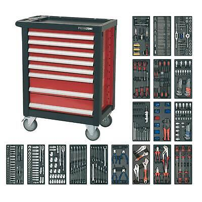 Sealey Rollcab 8 Drawer With Ball Bearing Runners And 707pc Tool Kit-AP2408TTC08