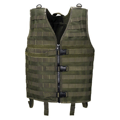 Assault Army Combat Adjustable Vest Molle Light Modular Tactical Airsoft Olive
