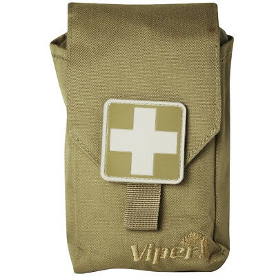 Viper Tactical Military First Aid Kit Trekking Emergency Bushcraft Pouch Coyote