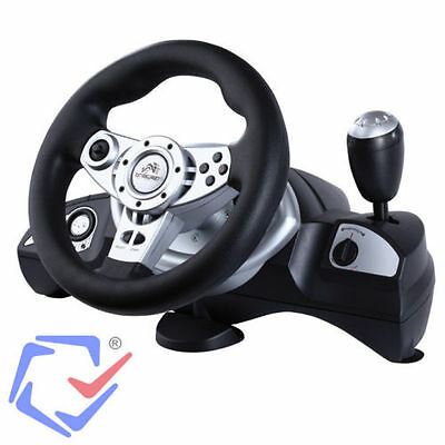 Tracer Zonda PS3 / PS2 / USB / PC Volante Racing Wheel Videogiocchi GT Forza NFS