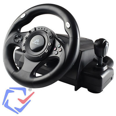 Tracer Drifter PS3 / PS2 / USB / PC Volante Racing Wheel Videogiocchi Forza NFS