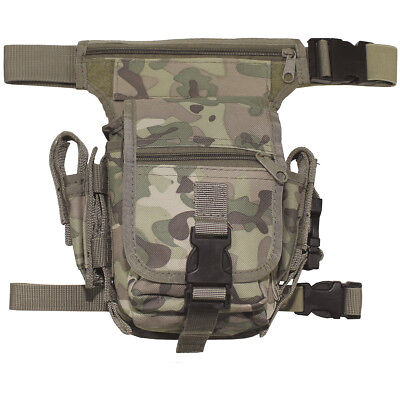 Mfh Tactical Waist Bag Military Fanny Pack Travel Airsoft Carrier Operation Camo