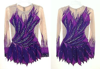Rhythmic Gymnastics Leotard RG Acro/Ice skating dress Tap Costume Acrobatic