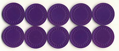 NEW 500 4g PURPLE Plastic Diamond Roulette or Poker Chips NEW Free Shipping *