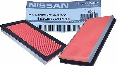 New Genuine NISSAN INFINITI Replacemant Engine Intake Air Filter Element