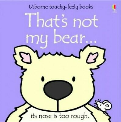 That's Not My Bear by Watt, Fiona Board book Book The Cheap Fast Free Post