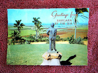 Greetings From  Bargara  By The Sea  Queensland  Colour  Postcard [149]