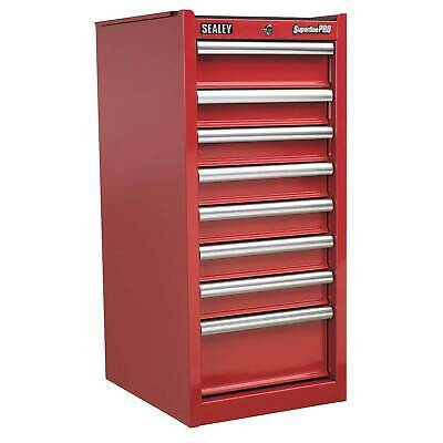 Sealey Hang-On Tool Box Chest - 8 Drawer With Ball Bearing Runners-Red - AP33589