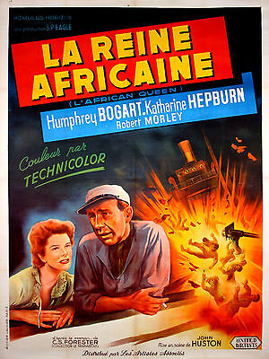 African Queen - Original French  Poster - Very Rare