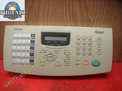 Toshiba DP80 DP80F Fax Complete Control Panel Assy DP80F-CP