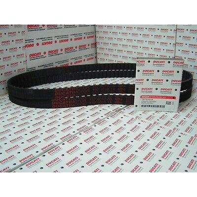 Pair of Genuine Ducati Cam Belts 748E 748S ST4 ST4S mONSTER S4 S4R 73710101A